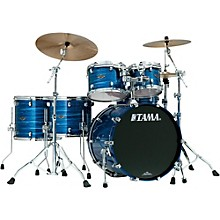 Starclassic Performer B/B 5-Piece Shell Pack Lacquer Ocean Blue Ripple