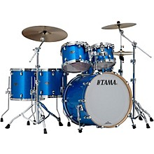 Starclassic Performer B/B 5-Piece Shell Pack with 22 In. Bass Drum Vintage Blue Sparkle