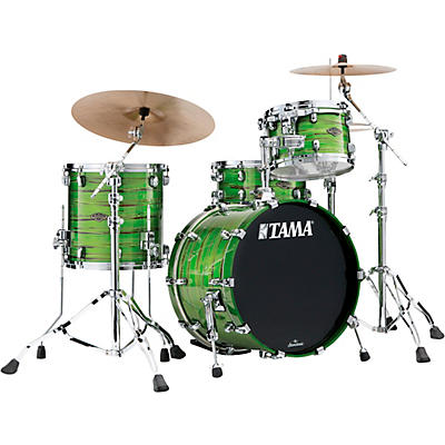 TAMA Starclassic Walnut/Birch 3-Piece Shell Pack with Chrome Hardware and 20 in. Bass Drum