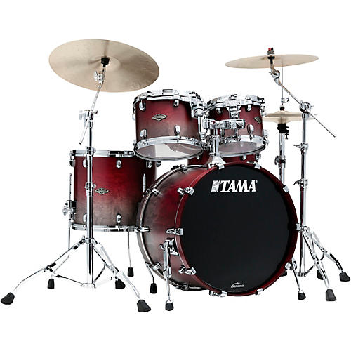 TAMA Starclassic Walnut/Birch 4-Piece Shell Pack with 22