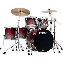 "TAMA Starclassic Walnut/Birch 5-Piece Shell Pack with 22"" Bass Drum"
