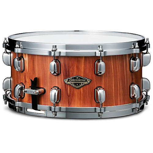 TAMA Starclassic Walnut/Birch Snare Drum with Cedar Outer Ply