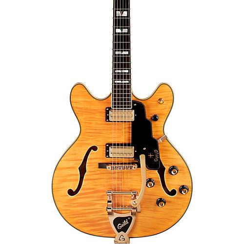 Guild Starfire VI Semi-Hollowbody Electric Guitar Blonde