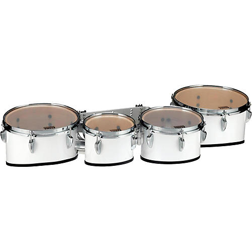 Tama Marching Starlight Marching Tenor Drums Quad 8, 10, 12, 13 in. Sugar White