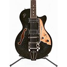 Starplayer TV Electric Guitar Black Sparkle