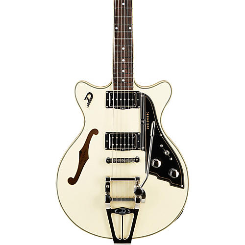 Duesenberg USA Starplayer TV Fullerton Semi-Hollow Electric Guitar Vintage White