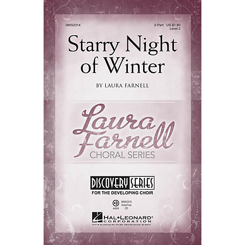 Hal Leonard Starry Night of Winter (Discovery Level 2) 2-Part composed by Laura Farnell
