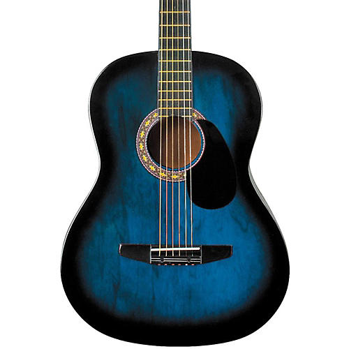 Rogue Starter Acoustic Guitar Condition 1 - Mint Blue Burst