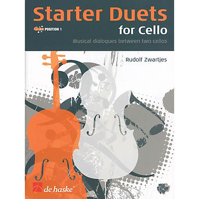 De Haske Music Starter Duets for Cello De Haske Play-Along Book Series Arranged by Rudolf Zwartjes