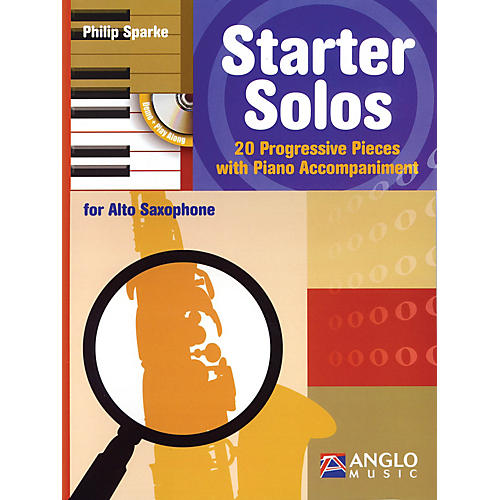 Anglo Music Starter Solos for Alto Sax Anglo Music Press Play-Along Series