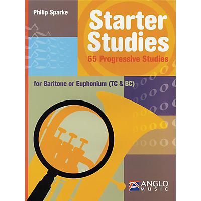 Anglo Music Starter Studies (Baritone/Euphonium) De Haske Solo Work Series Written by Philip Sparke