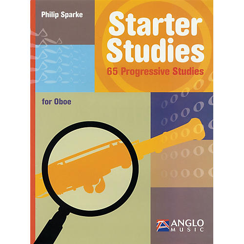 Anglo Music Starter Studies (Oboe) De Haske Play-Along Book Series Written by Philip Sparke