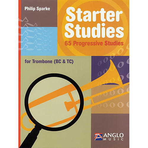 Anglo Music Starter Studies (Trombone) De Haske Play-Along Book Series Written by Philip Sparke