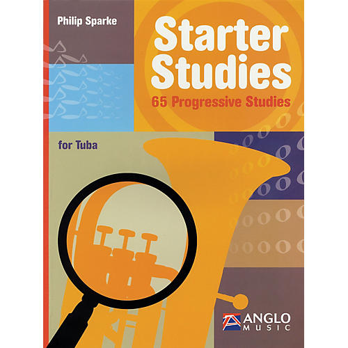 Anglo Music Starter Studies (Tuba in C (B.C.)) De Haske Play-Along Book Series Written by Philip Sparke