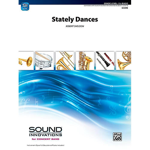 Alfred Stately Dances Concert Band Grade 1.5 (Easy)