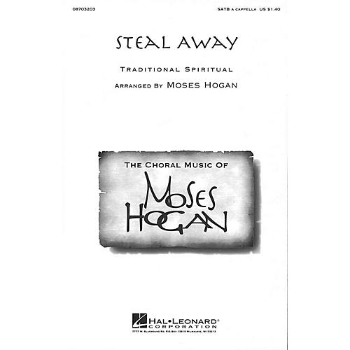 Hal Leonard Steal Away SATB a cappella arranged by Moses Hogan