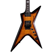 Open Box Dean Stealth Floyd FM - Trans Brazilia w/Case