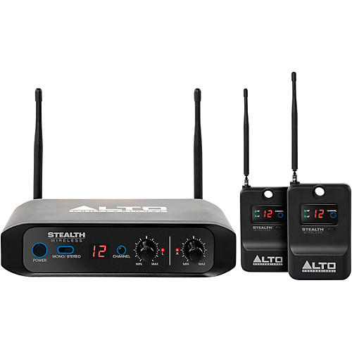 Alto Stealth Wireless - Stereo Wireless System for Active Loudspeakers