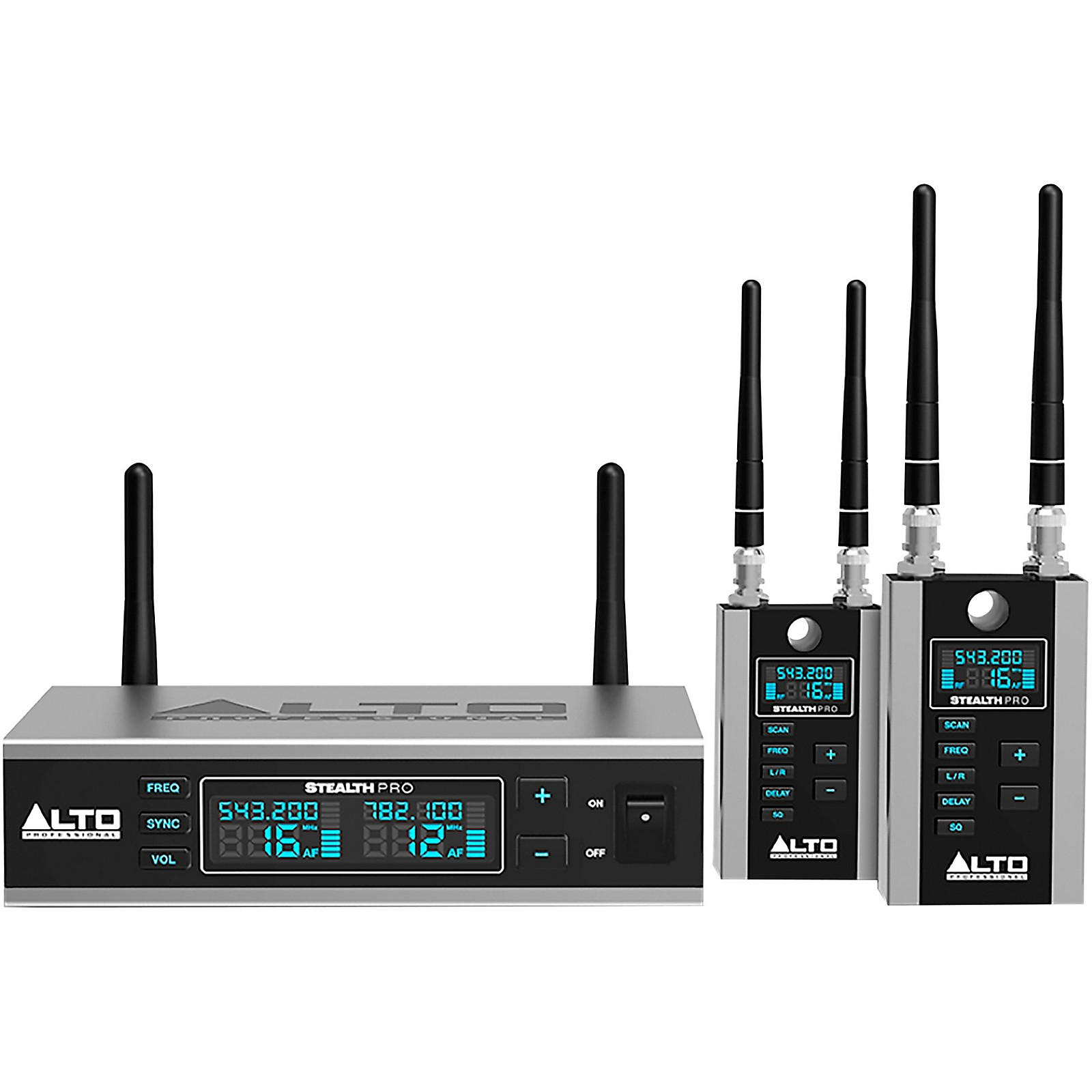 Alto Stealth Wireless Pro Stereo Wireless System for Powered Loudspeakers