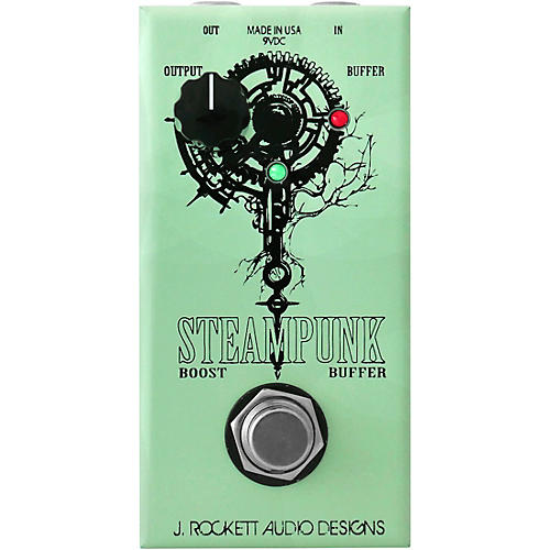Rockett Pedals Steampunk Boost/Buffer Effects Pedal Condition 1 - Mint
