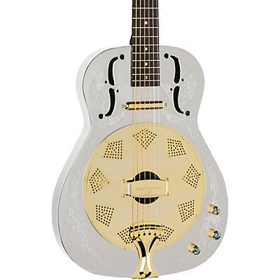 Luna Guitars Steel Magnolia Acoustic-Electric Resonator