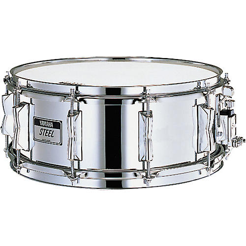 Yamaha steel shell snare drum eight lug musician 39 s friend for Yamaha stage custom steel snare drum 14x6 5