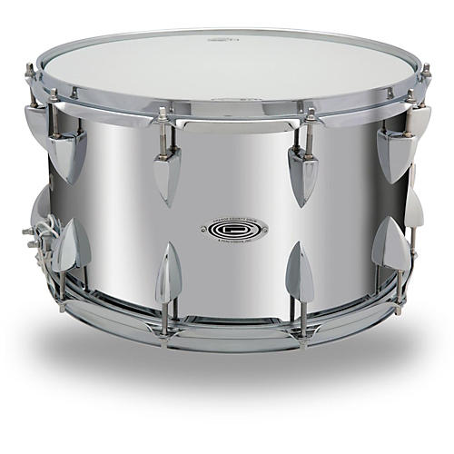 Orange County Drum & Percussion Steel Snare Drum in Chrome Finish