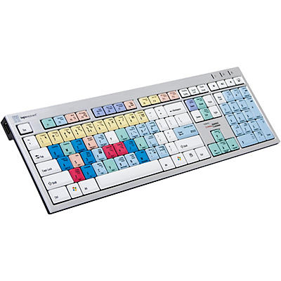Logickeyboard Steinberg Cubase/Nuendo PC Slim Line