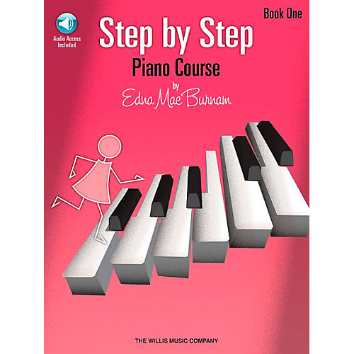 Willis Music Step By Step Piano Course Book 1 Book/CD