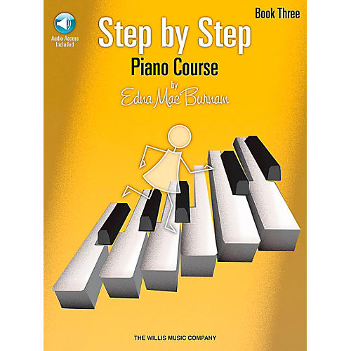 Willis Music Step By Step Piano Course Book 3 Book/CD