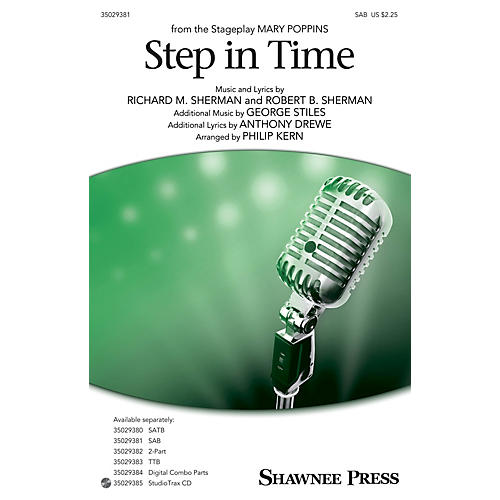 Shawnee Press Step In Time (from Mary Poppins) SAB arranged by Philip Kern