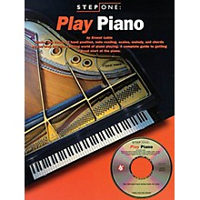 Music Sales Step One: Play Piano Music Sales America Series Softcover with CD Written by Ernest Lubin