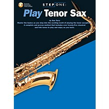 Music Sales Step One: Play Tenor Sax Music Sales America Series Book with CD Written by Sue Terry