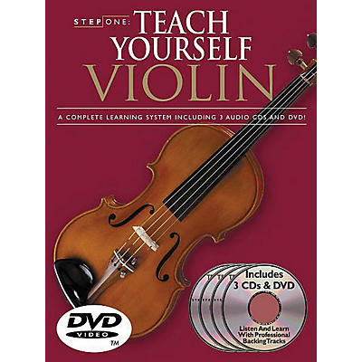 Music Sales Step One: Teach Yourself Violin Course Music Sales America Series Softcover with DVD by Antoine Silverman