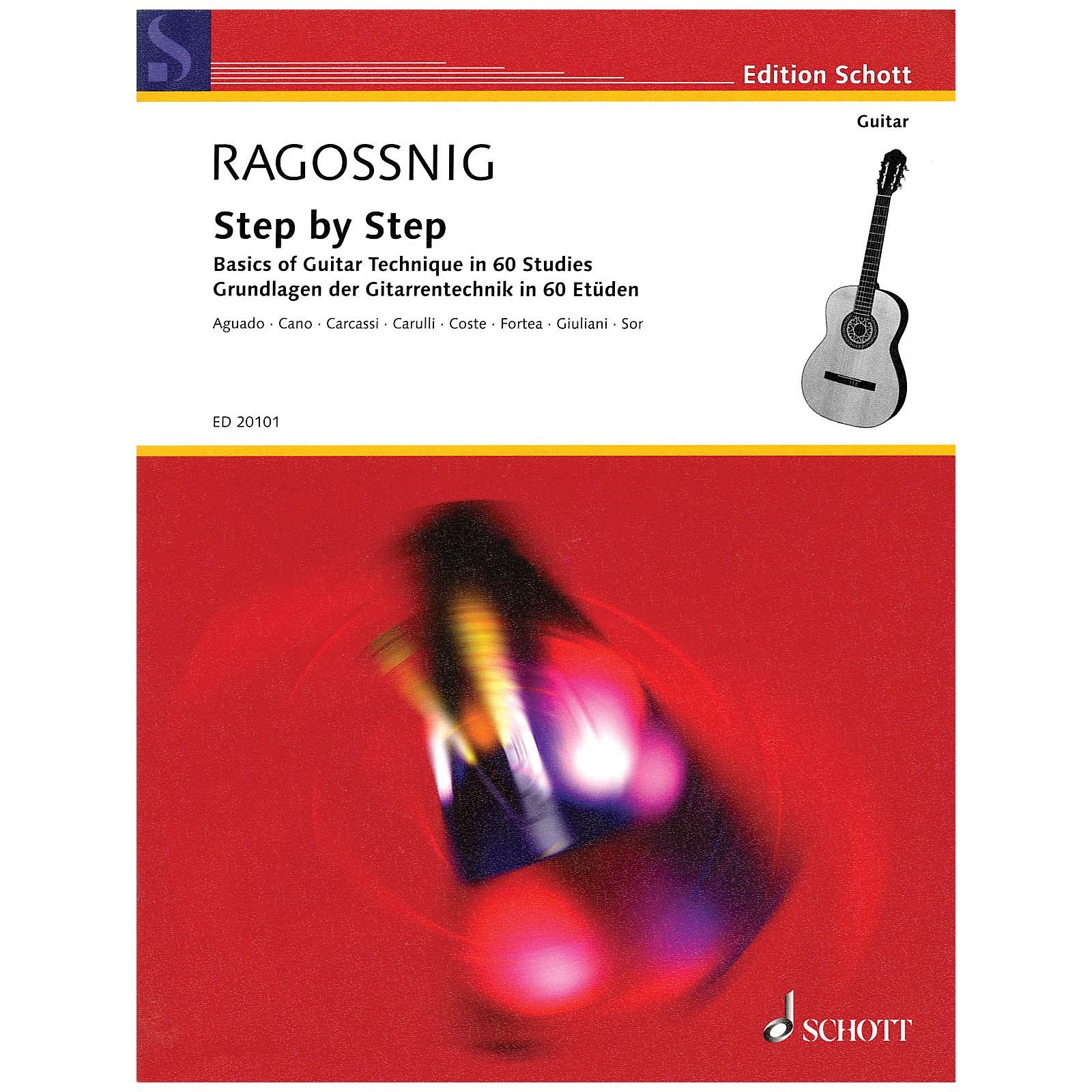 Schott Step by Step (Basics of Guitar Technique in 60 Studies) Guitar Series
