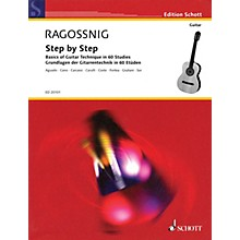 Schott Step by Step (Basics of Guitar Technique in 60 Studies) Guitar Series