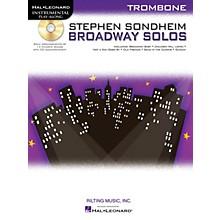 Hal Leonard Stephen Sondheim - Broadway Solos (Trombone) Instrumental Play-Along Series Softcover with CD
