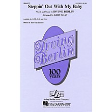 Hal Leonard Steppin' Out with My Baby SATB arranged by Kirby Shaw