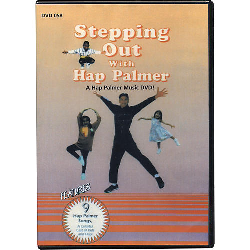 Educational Activities Stepping Out with Hap Palmer Video