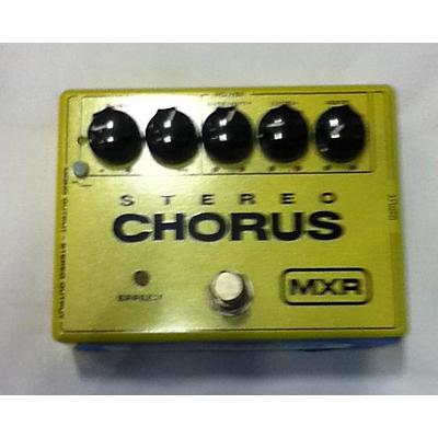 MXR Stereo Chorus Effect Pedal