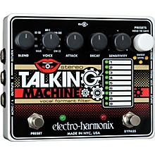 Open Box Electro-Harmonix Stereo Talking Machine Vocal Formant Filter Guitar Effects Pedal