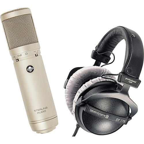 Sterling Audio Sterling Audio ST66 Tube Mic & Beyerdynamic DT770 Headphone Pack