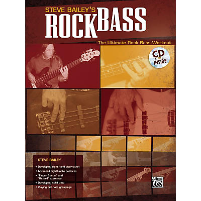 Alfred Steve Bailey - Rock Bass Book with CD