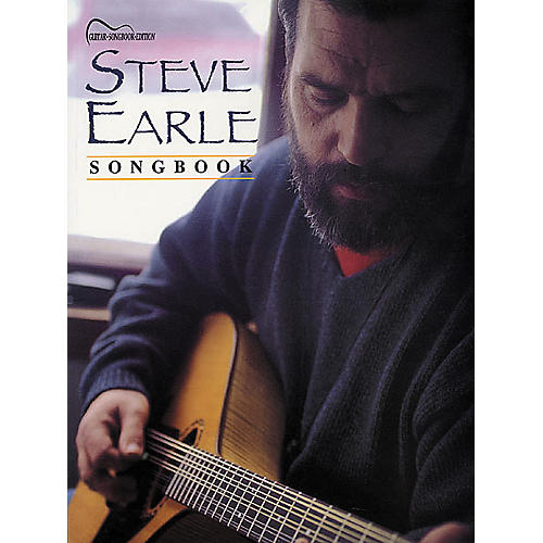 Hal Leonard Steve Earle Songbook Guitar Tab Book
