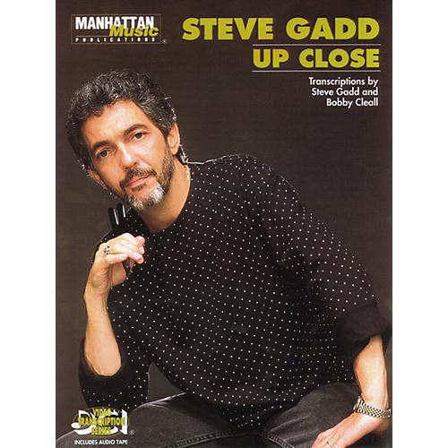 Alfred Steve Gadd Up Close (Book/CD)