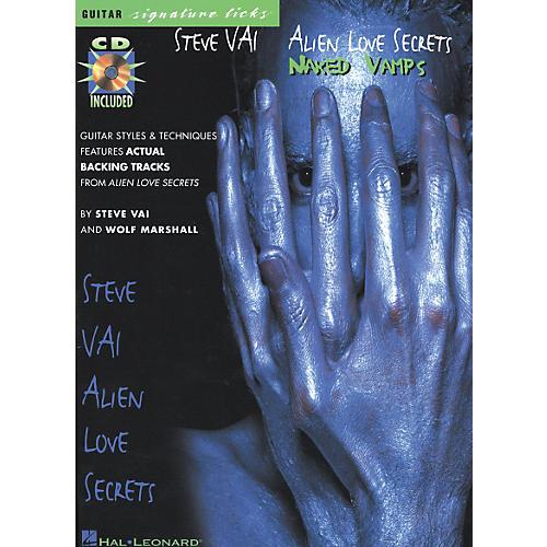 Hal Leonard Steve Vai - Alien Love Secrets: Naked Vamps Signature Licks Book/CD