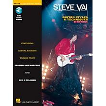 Hal Leonard Steve Vai Signature Licks Style & Techniques Book with CD