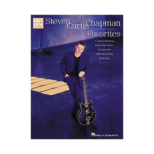 Hal Leonard Steven Curtis Chapman Favorites Easy Guitar Tab Songbook