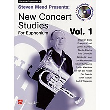 Hal Leonard Steven Mead Presents: New Concert Studies for Euphonium De Haske Play-Along Book BK/CD by Steven Mead