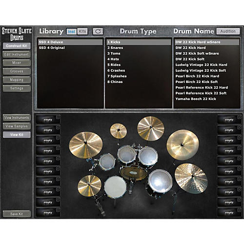 Steven Slate Drums Steven Slate Drums EX 4.0 Software Download